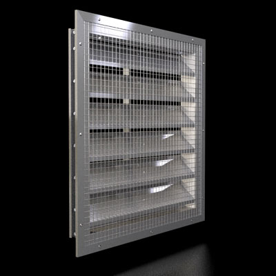 245a 2 Inch Adjustable Louver Duravent